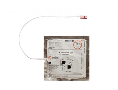 Jeu de 2 électrodes adultes pour Cardiac Science G3