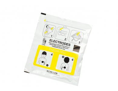 Jeu de 2 électrodes pédiatriques pour Schiller FRED - EASYPORT