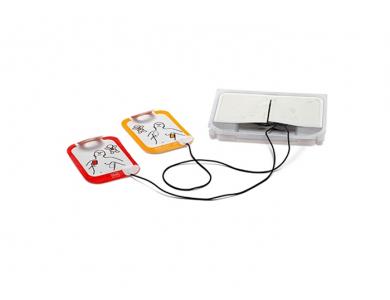 Jeu de 2 électrodes adultes et pédiatriques pour Physio Control Lifepak CR2