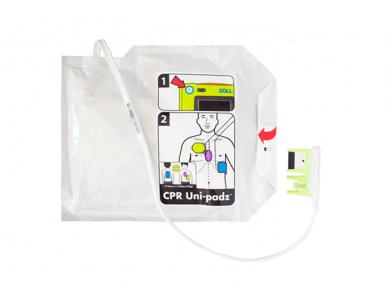 Jeu de 2 électrodes universelles CPR Uni-Padz pour Zoll AED 3