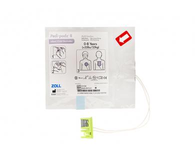 Jeu de 2 électrodes Pedi-Padz pédiatriques pour Zoll AED Plus