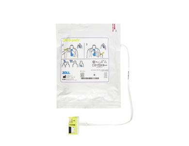 Jeu de 2 électrodes CPR-D-PADZ adultes pour Zoll AED Plus et AED Pro