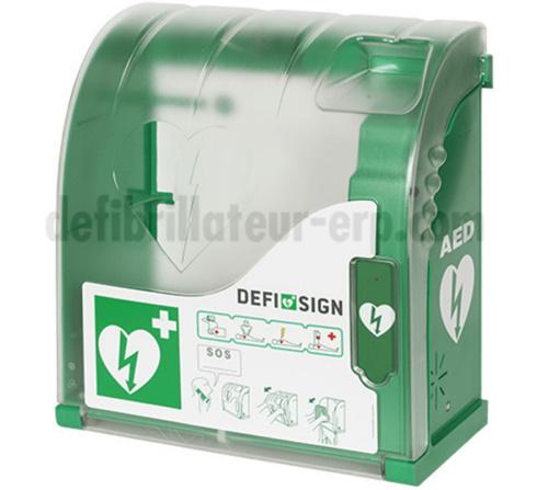 boitier chauffant pour défibrillateur