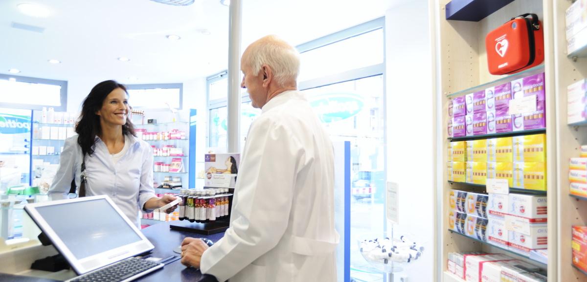 défibrillateur HS1 Philips pharmacie centre commercial
